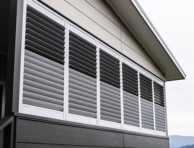 Recent Work Aluminium Shutters