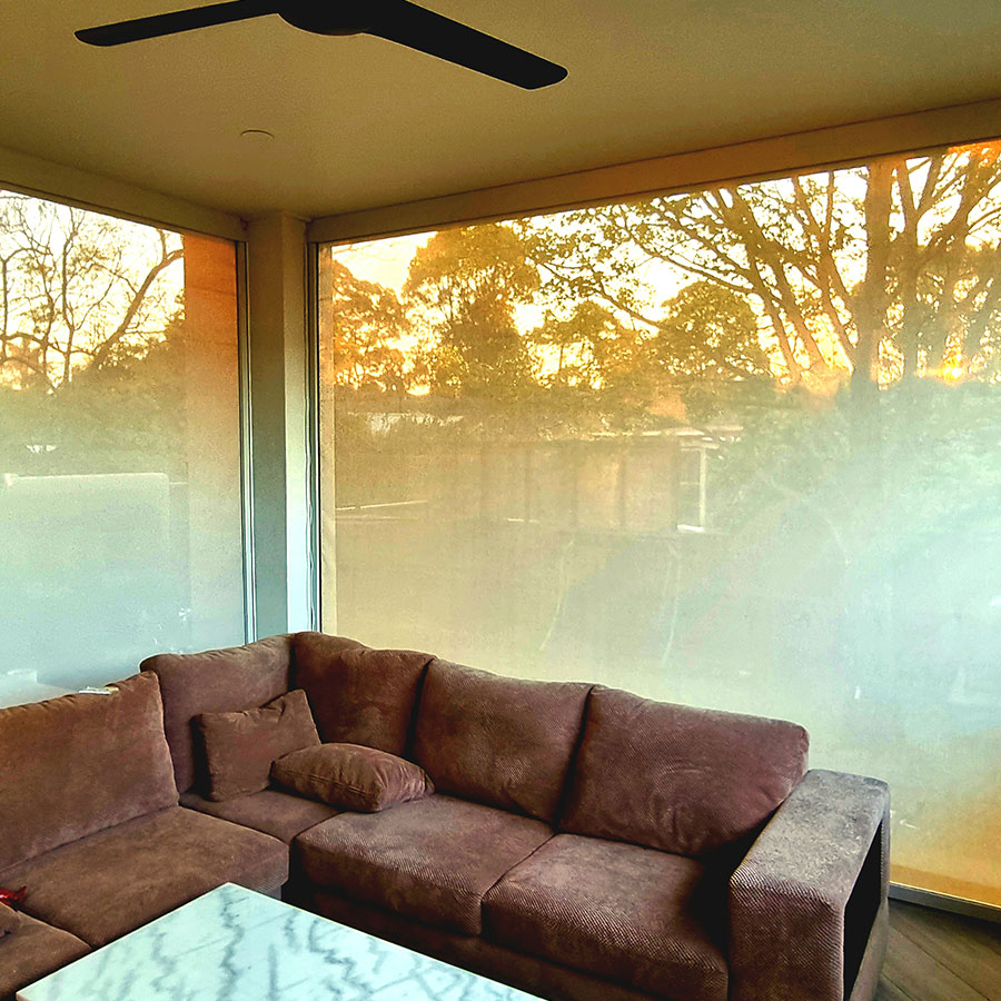 Zipguard blinds by sunshade shutters